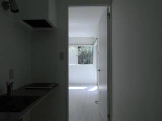 studio m+ by masato fujii Windows & doors Doors Wood White