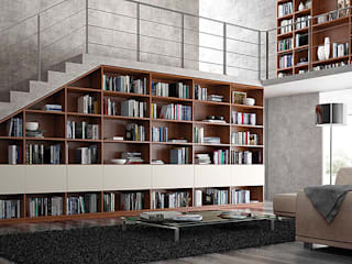 Modern Study Room and Home Office by Jose Fernandez Modern
