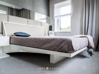 Arte Dizain. Agnieszka Hajdas-Obajtek Modern style bedroom