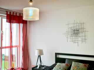 Appartement original Chambre originale par Jeux de Lumière Éclectique