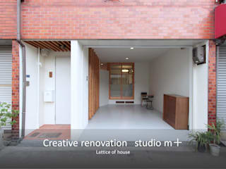 studio m+ by masato fujii Eclectic style houses Wood