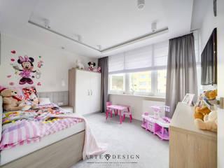 Dormitorios infantiles de estilo  por Arte Dizain. Agnieszka Hajdas-Obajtek