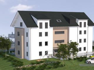 Nord-Ost Ansicht:   von Baudesign Laupheim GmbH & Co. KG