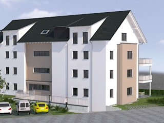 Nord-West Ansicht:   von Baudesign Laupheim GmbH & Co. KG