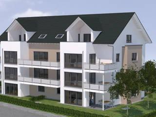 Süd-Ost Ansicht:   von Baudesign Laupheim GmbH & Co. KG