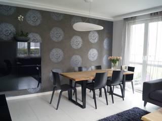 Remont apartamentu: styl , w kategorii Salon zaprojektowany przez Dekor Studio