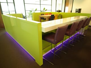 Kantoorruimte Dick de Jong Interieurarchitekt Moderne kantoor- & winkelruimten