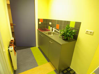 Fysiopraktijk Stiens Dick de Jong Interieurarchitekt Moderne gezondheidscentra