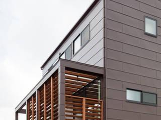 カフェのある家: 設計事務所アーキプレイスが手掛けた家です。