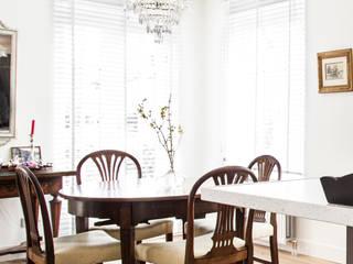 Столовые комнаты в . Автор – Woon Architecten, Классический