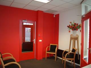 Interieur Talencentrum Fryslan Dick de Jong Interieurarchitekt Moderne kantoor- & winkelruimten