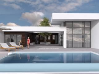 MANDA Casas de estilo mediterráneo de Arquitectura Mediterránea. Mediterranean Passivhaus Concept. 653773806 . Mediterráneo