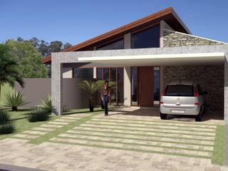 Residência PHP Casas modernas por Hamilton Turola Arquitetura e Design Moderno