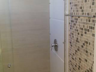 Banheiro suíte: Banheiros modernos por Caroline Lima Arquitetura