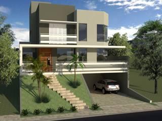 Residência CHM Casas modernas por Hamilton Turola Arquitetura e Design Moderno