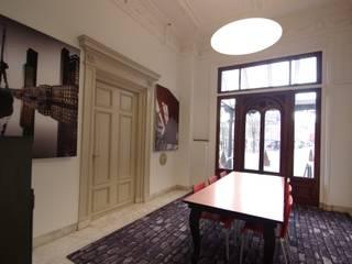 Stadskantoor gemeente Leeuwarden Dick de Jong Interieurarchitekt Rustieke kantoor- & winkelruimten