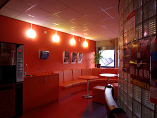 Stadskantoor gemeente Leeuwarden Dick de Jong Interieurarchitekt Moderne kantoor- & winkelruimten