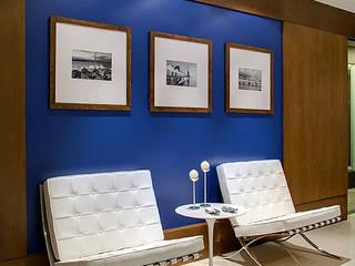 Sede Corporativa Impactante Escritórios modernos por BG arquitetura | Projetos Comerciais Moderno