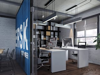 industrial Study/office by Bronx