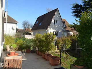 Transformer une terrasse en véranda Balcon, Veranda & Terrasse classiques par Mon Intérieur Sur Mesure (MISM) Classique