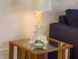 Apartamento TaMa Salas de estar modernas por Infinitta - arte | design | arquitetura | interiores | vm Moderno