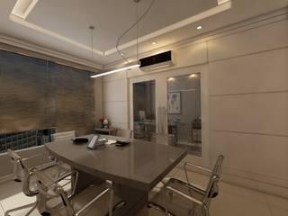 Escritorio:   por Débora Pagani Arquitetura de Interiores,Moderno