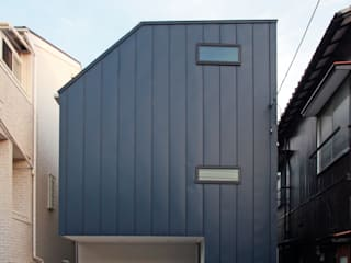 空と暮らす家(スキップフロア): 設計事務所アーキプレイスが手掛けた家です。