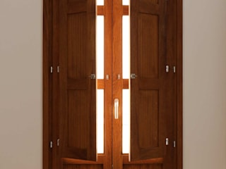 sanahuja&partners Modern windows & doors Wood Wood effect