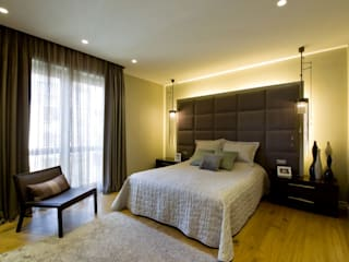 Plano Mimarlık ve Teknoloji BedroomBeds & headboards