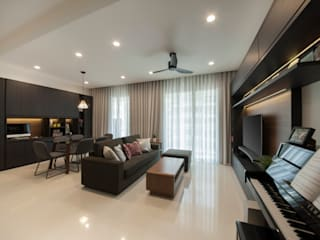 Livings de estilo  por Eightytwo Pte Ltd