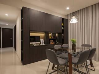 Comedores de estilo moderno por Eightytwo Pte Ltd