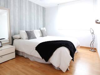 Double room Dormitorios de estilo moderno de acertus Moderno