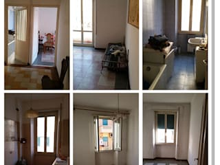 Ristrutturazione integrale di un appartamento Camera da letto moderna di Progetto Ristrutturare Moderno
