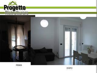 Ristrutturazione integrale di un appartamento di Progetto Ristrutturare