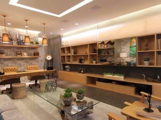 Casa Cor 2016 - Home Office Espaços comerciais modernos por RICH by Tato Araújo Moderno