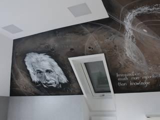Einstein: styl , w kategorii  zaprojektowany przez Artystyczne Malowanie Ścian
