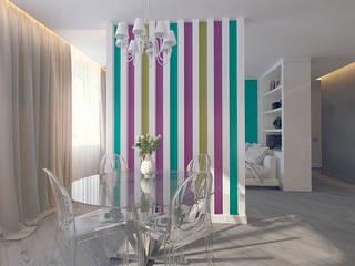 Ruang Makan oleh Tutto design, Minimalis