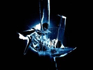 Tableau abstrait sur dibond aluminium Guenzone ArtObjets d'art Aluminium/Zinc Bleu