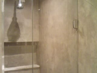 banheiro social: Banheiros  por Margareth Salles