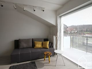 Skandinavische Wohnzimmer von Archomega Skandinavisch