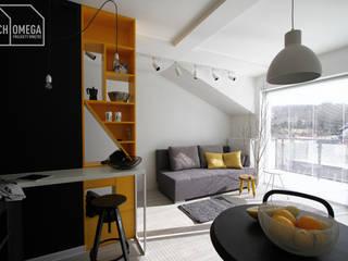 Moderne Wohnzimmer von Archomega Modern