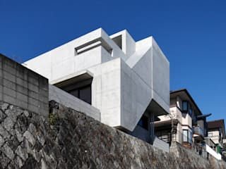 一級建築士事務所アトリエm Modern houses Reinforced concrete Grey