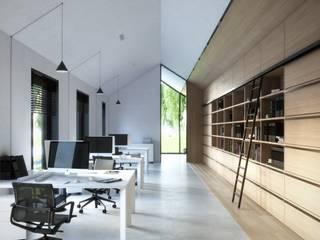 Biuro pod Krakowem od Kamińska Stańczak Minimalistyczny