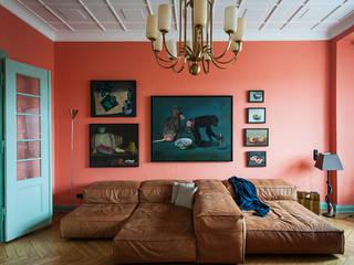 Gisbert Pöppler Architektur Interieur Living room Red