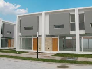 COMPLEJO ATLÁNTIDA Casas modernas: Ideas, imágenes y decoración de Poggi Schmit Arquitectura Moderno