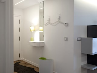 Taralux Iluminación, S.L. Eclectic style corridor, hallway & stairs