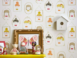 Modern nursery/kids room by Juicy Colors Modern