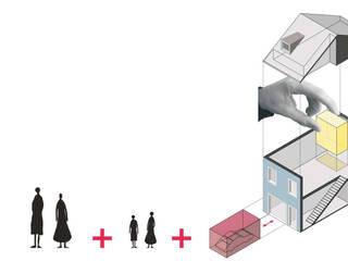casa PAC:   por Ricardo Caetano de Freitas | arquitecto,Minimalista