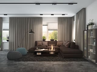 3D GROUP Minimalist living room