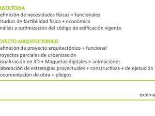 EXTERNA Delivery de ARQUITECTURA: Casas de estilo  por Externa Arquitectura